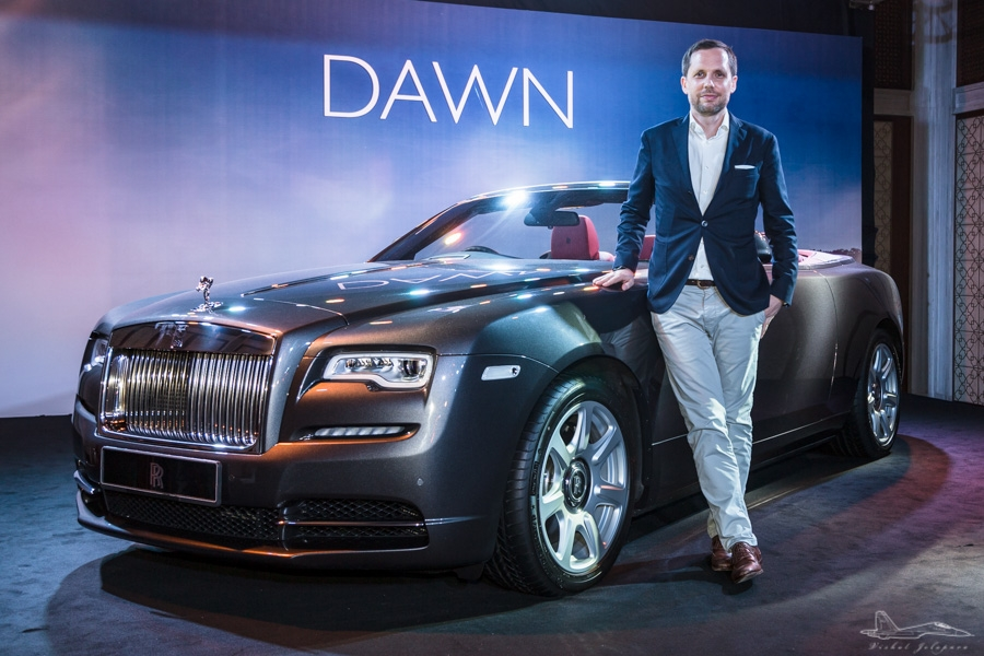 Rolls-Royce Asia Pacific Regional Sales Manager, Sven Ritter