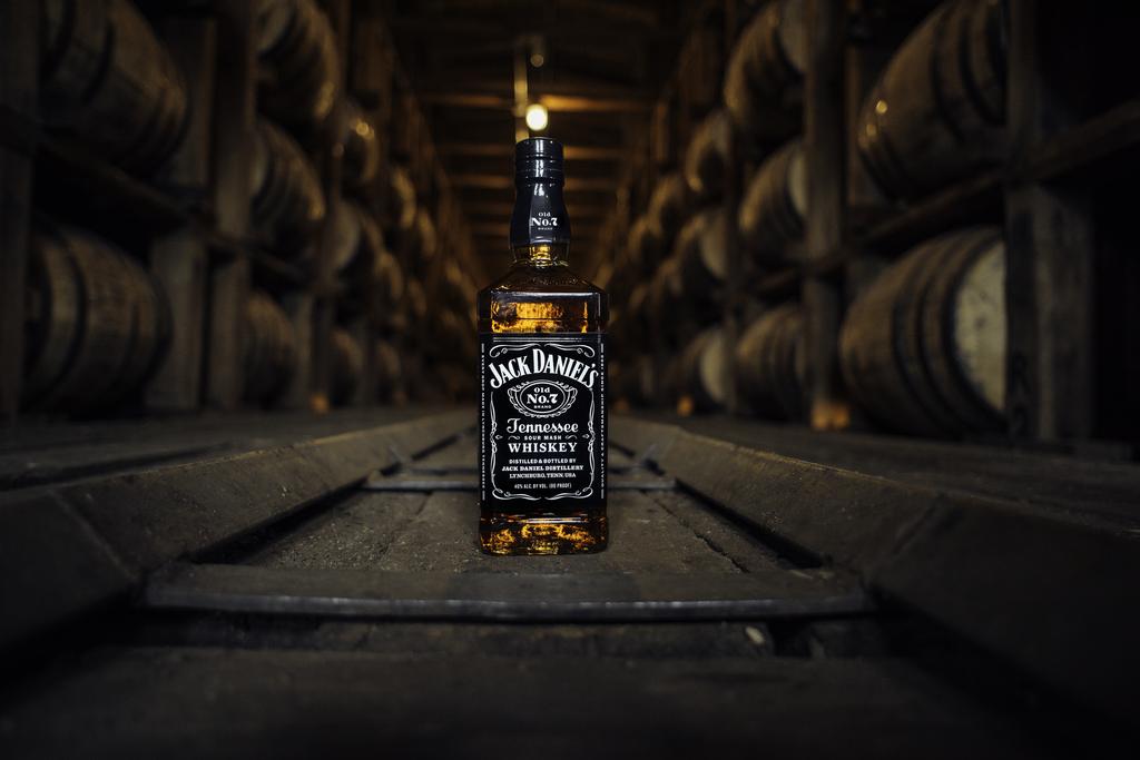 jack-daniels-bottle-in-barrelhouse