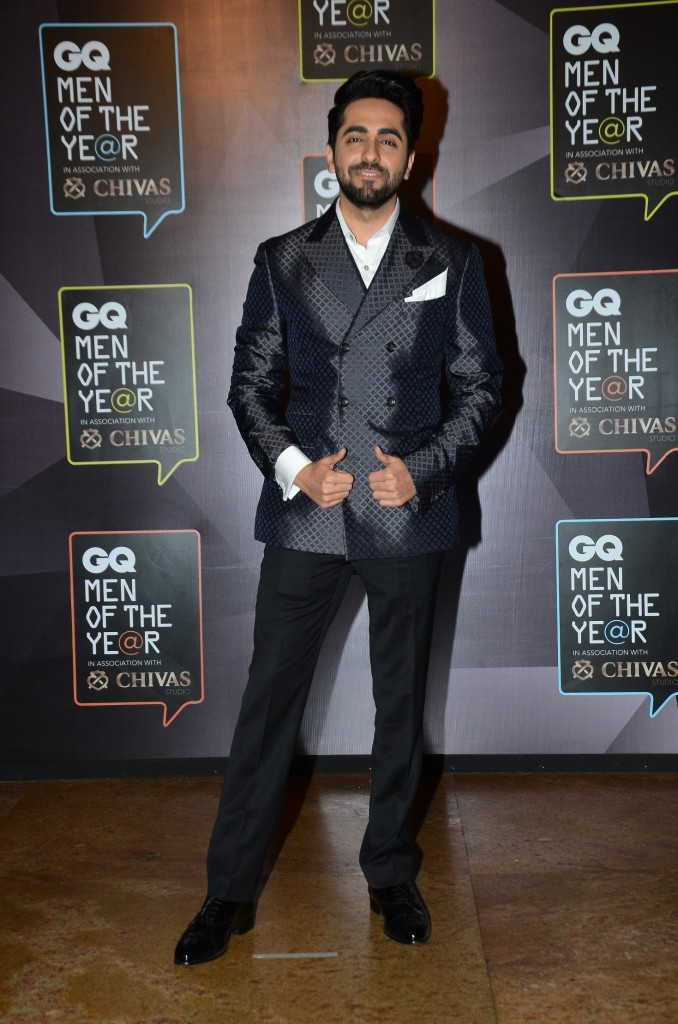 Ayushmann's double-breasted Canali suit gets a thumbs up from me. And as always, he is impeccably accessorised.