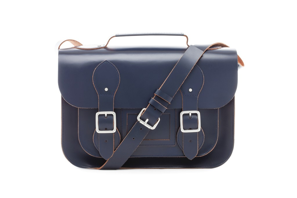 Campus Satchel L with Coin Pouch Berry Blue
