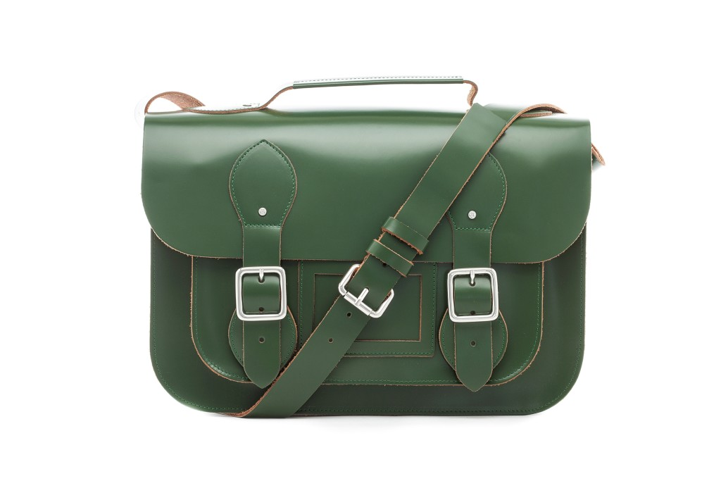 Campus Satchel L with Coin Pouch Lush Green