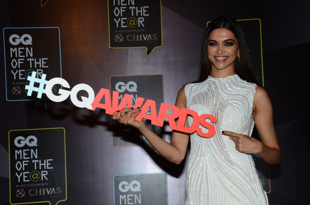 While the men did enjoy their place in the sun, the ladies were not to be outdone that night. GQ honoured Deepika Padukone with Woman of the Year.