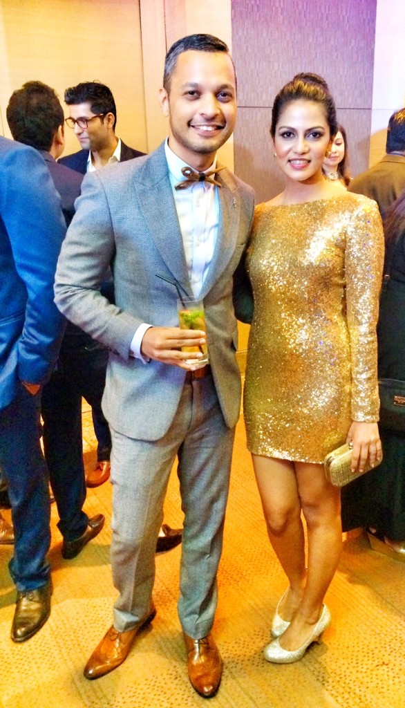 A quick drink with my friend and GQ India staffer Megha Shah, Lifestyle Editor of GQ india.