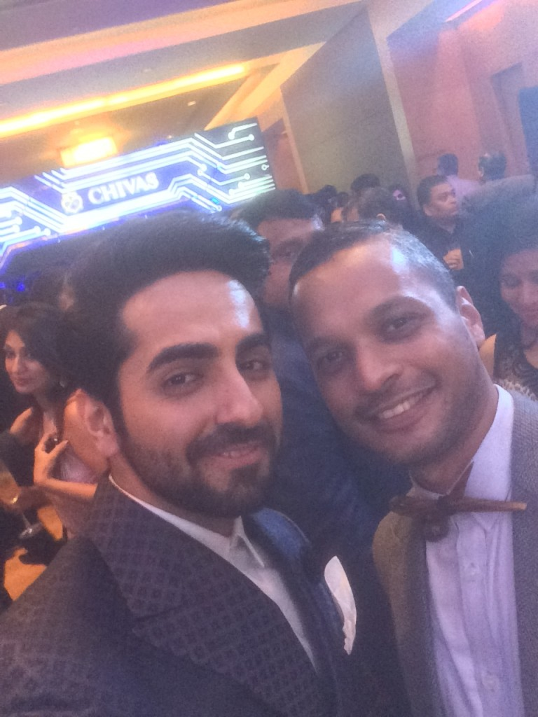 One of my favourite GQ boys, Ayushman Khurana, who never ever disappoints in the style department, thought that a selfie might be a good idea.
