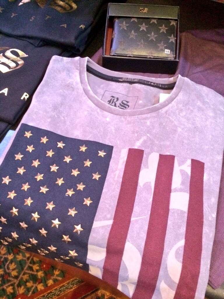 This was my favourite piece in the collection. I loved the bronze gold stars embossed into the tee.