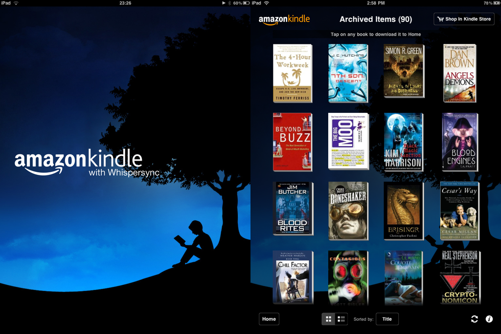 Kindle-Android-app-review