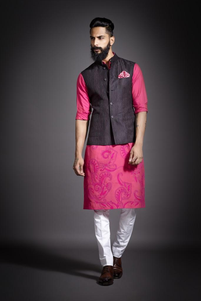 Raghavendra Rathore Kurta waistcoat look